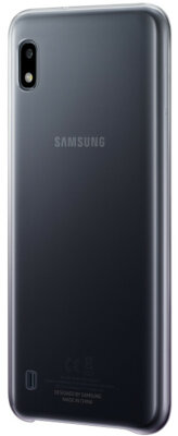 Чехол Samsung Gradation Cover Black для Galaxy A10 A105F 3