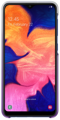Чохол Samsung Gradation Cover Violet для Galaxy A10 A105F 3