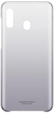 Чехол Samsung Gradation Cover Black для Galaxy A20 A205F 2