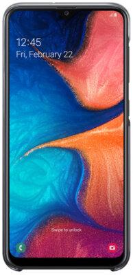 Чехол Samsung Gradation Cover Black для Galaxy A20 A205F 3