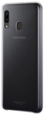 Чехол Samsung Gradation Cover Black для Galaxy A20 A205F 5