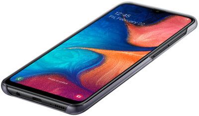 Чехол Samsung Gradation Cover Black для Galaxy A20 A205F 6