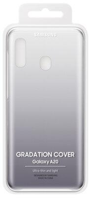 Чехол Samsung Gradation Cover Black для Galaxy A20 A205F 7