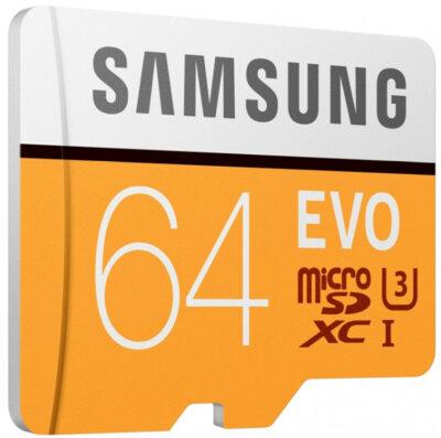 Карта пам'яті Samsung microSDXC 64GB EVO Class 10 MB-MP64GA/APC 2