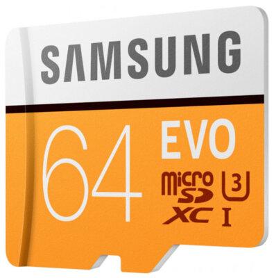 Карта пам'яті Samsung microSDXC 64GB EVO Class 10 MB-MP64GA/APC 3