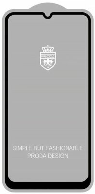 Защитное стекло Proda для Samsung Galaxy A70 Black 1
