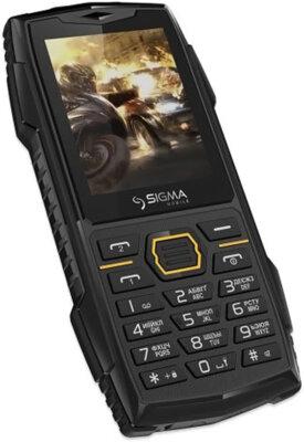 Мобильный телефон Sigma X-Treme AZ68 Black 3