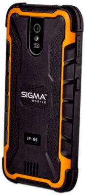 Смартфон Sigma Х-treme PQ29 Black Orange 2