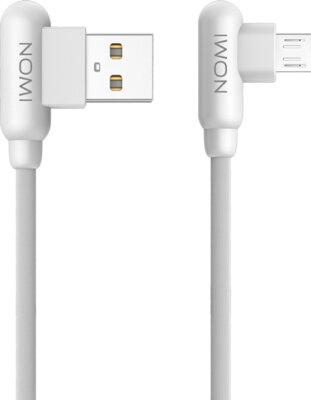 Кабель Nomi DCAQ 10m USB micro 1m White 1