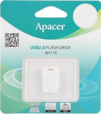 Накопичувач APACER AH116 16GB White 4