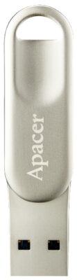Накопитель APACER AH790 64GB Lightning Dual Silver 3