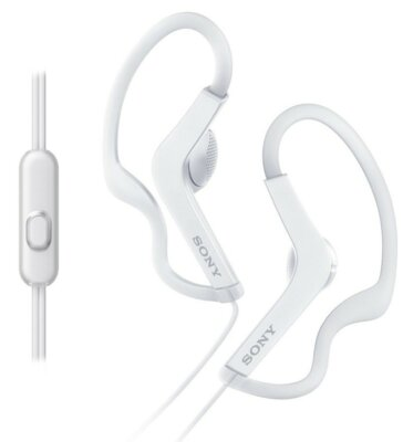 Навушники SONY MDR-AS210AP White 2