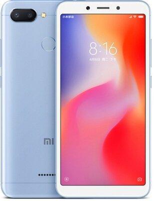 Смартфон Xiaomi Redmi 6 3/32GB Blue 2