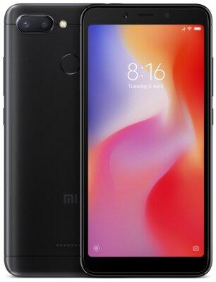 Смартфон Xiaomi Redmi 6 3/32GB Black 2