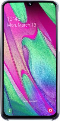 Чехол Samsung Gradation Cover Black для Galaxy A40 A405F 3
