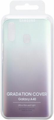 Чехол Samsung Gradation Cover Black для Galaxy A40 A405F 5