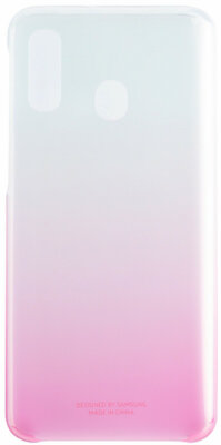 Чехол Samsung Gradation Cover Pink для Galaxy A40 A405F 2