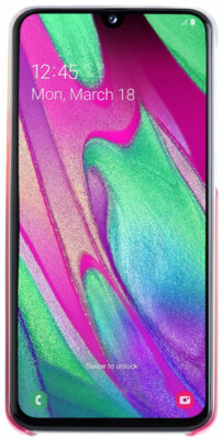 Чехол Samsung Gradation Cover Pink для Galaxy A40 A405F 3