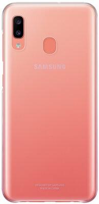 Чехол Samsung Gradation Cover Pink для Galaxy A20 A205F 1