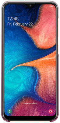 Чехол Samsung Gradation Cover Pink для Galaxy A20 A205F 3