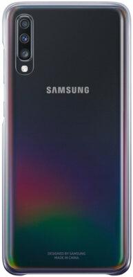 Чехол Samsung Gradation Cover Black для Galaxy A70 A705F 1