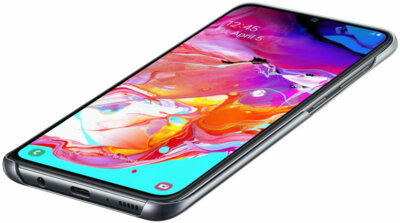 Чехол Samsung Gradation Cover Black для Galaxy A70 A705F 4