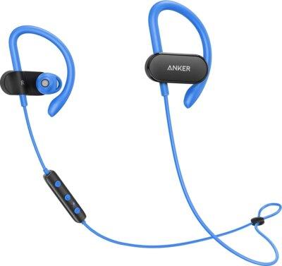 Наушники ANKER SoundBuds Curve Black/Blue 1