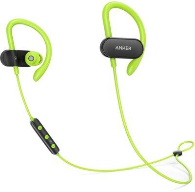 Наушники ANKER SoundBuds Curve Black/Green 1