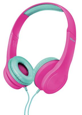 Навушники TRUST Urban Bino Kids Pink 1