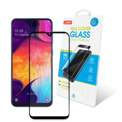 Захисне скло Global Full Glue Black для Samsung Galaxy A50 A505 1