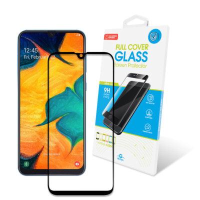 Защитное стекло Global Full Glue Black для Samsung Galaxy A30/A50 1