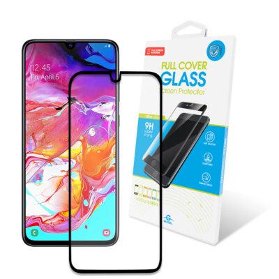 Захисне скло Global Full Glue Black для Samsung Galaxy A70 A705 1