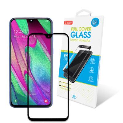 Защитное стекло Global Full Glue Black для Samsung Galaxy A40 A405 1