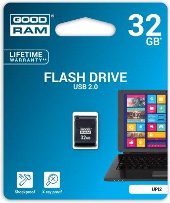 Накопичувач GOODRAM UPI2 32 GB PICCOLO Black 2