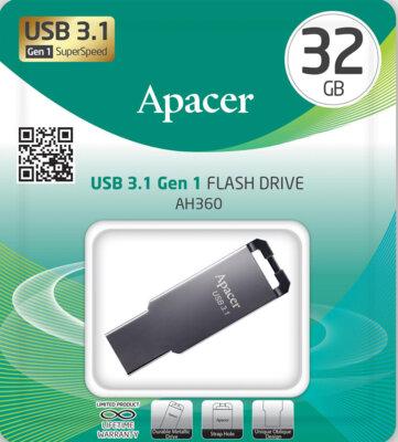 Накопичувач APACER AH360 32GB Ashy 5