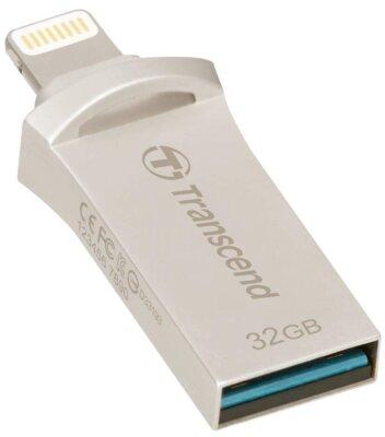 Накопитель TRANSCEND JetDrive Go 500 32GB Silver 3