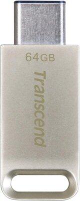 Накопитель TRANSCEND JetFlash 850 64GB Type-C Silver 1