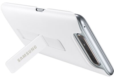 Чохол Samsung Protective Standing Cover White для Galaxy A80 A805 7