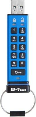 Накопитель KINGSTON DT 2000 64GB Keypad Access USB 3.1 2