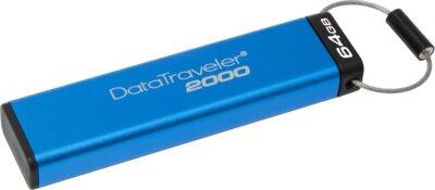 Накопитель KINGSTON DT 2000 64GB Keypad Access USB 3.1 4