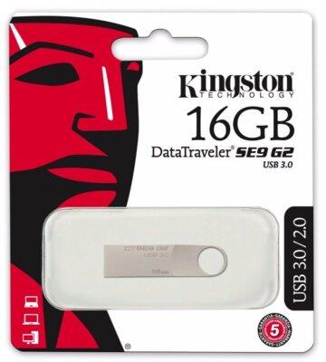 Накопичувач KINGSTON DTSE9 G2 16GB USB 3.0 3