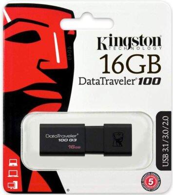 Накопитель KINGSTON DT100 G3 16GB USB 3.0 4