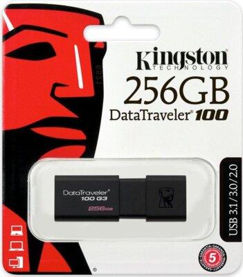 Накопитель KINGSTON DT100 G3 256GB USB 3.0 4