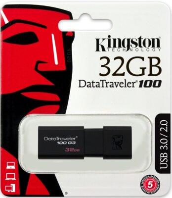 Накопитель KINGSTON DT100 G3 32GB USB 3.0 4