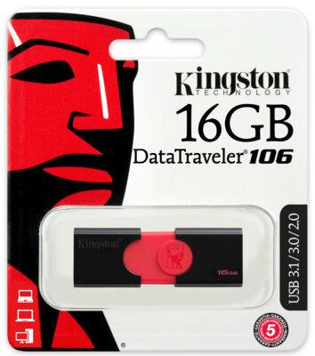 Накопитель KINGSTON DT106 16GB USB 3.0 4