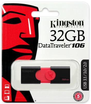 Накопитель KINGSTON DT106 32GB USB 3.0 4