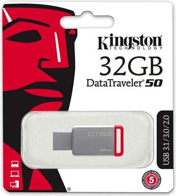 Накопичувач KINGSTON DT50 32GB USB 3.1 4
