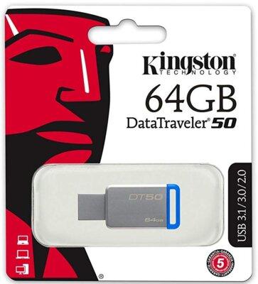 Накопитель KINGSTON DT50 64GB USB 3.1 4