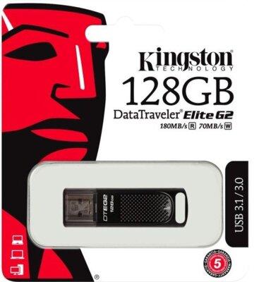 Накопитель KINGSTON DT Elite G2 128GB USB 3.0 5