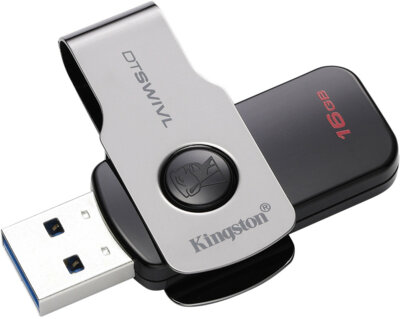 Накопитель KINGSTON DT SWIVL 16GB USB 3.0 3